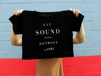 FIT SOUND CROP TEE - LADIES main photo