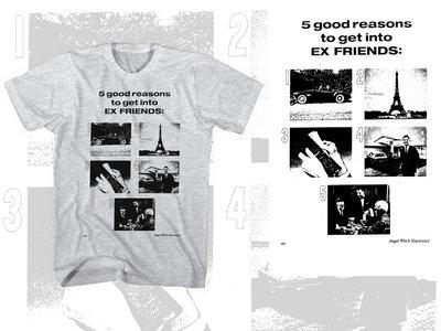 """5 Good Reasons"" T-shirt (Women's and Men's Cuts!) main photo"