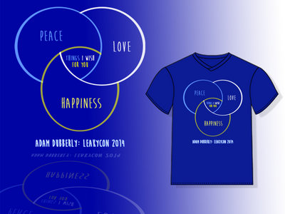 Peace, Love, and Happiness LC Tee main photo