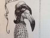 Bird Lady T-shirt photo