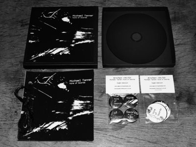 Michael Tanner - Nine of Swords (Night Edition limited box set CD album) main photo