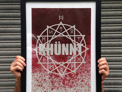 Limited screen printed Khünnt poster main photo