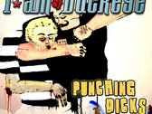 """PUNCHING D#CKS"" Tshirt + D/L photo"