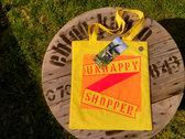 'Unhappy Shopper' Bag + Tag photo