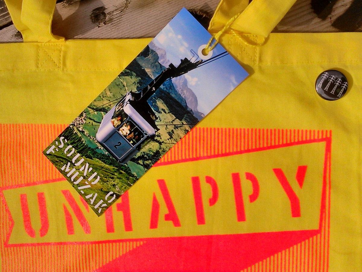 Unhappy Shopper Bag Tag Unhappy Shoppers