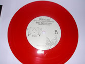 "HARD COMING LOVE / LOVE SONG FOR THE DEAD CHE 7"" RED VINYL SINGLE photo"
