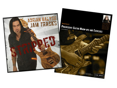"STRIPPED (Jam Tracks) & ""Progressive Guitar Warm-ups & Exercises"" Book - Download Combo main photo"