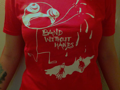 "Red T-Shirt ""Man Without Hands"" main photo"