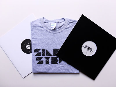 """Special Combo : Silent Steps Shirt (Black or Grey) + SILENT08 & SILENT09 (12"""") + Stickers main photo"""