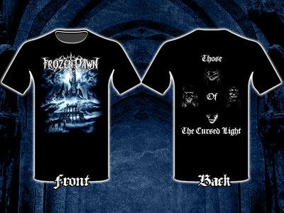 """Those Of The Cursed Light"" Design  T-shirt main photo"