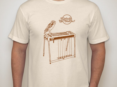 Owl & Pedal Steel T-Shirt (Cream) main photo