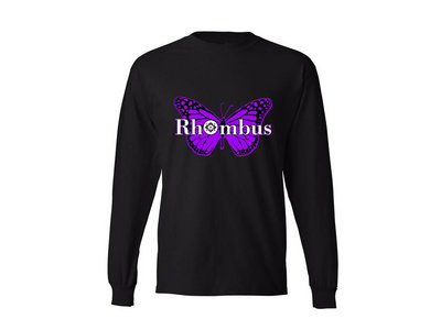 Rhombus 'Purple Butterfly' Limited Edition Long-Sleeved T-Shirt main photo