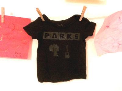 Parks Stamp Baby T (Black) main photo