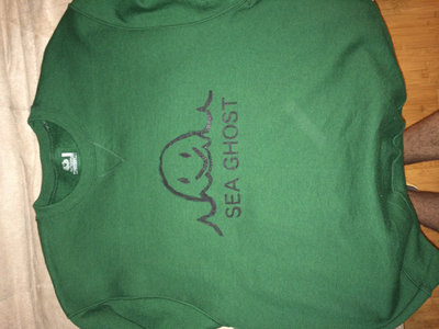 Green Sea Ghost Sweatshirt main photo