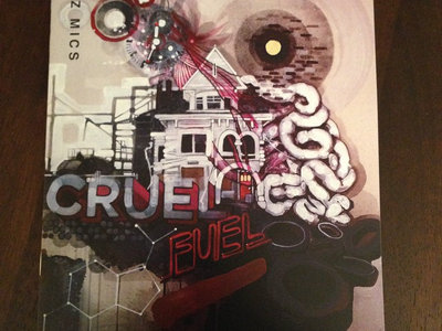 """Cruel Fuel"" sing-along lyrics book (autographed by Seez Mics) main photo"