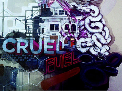 """""""Cruel Fuel"""" poster (autographed by Seez Mics) main photo"""