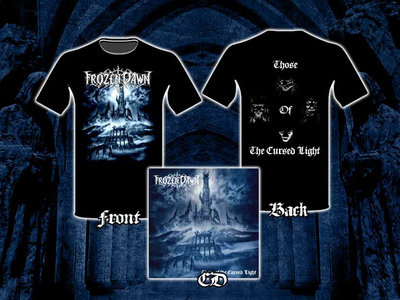 """PACK: T-shirt + CD """"Those Of The Cursed Light"""" main photo"""