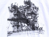 City of Wires T-shirt (White) photo