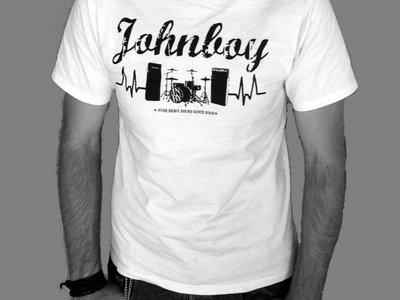 "T-Shirt ""Backline"" white main photo"