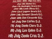 Limited Edition Dos Palos Tour T Shirt photo
