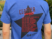 Limited Edition Clatter Japan Tour T-Shirt photo