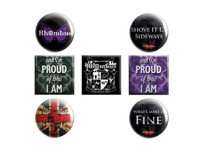 Rhombus Badges 7 Pack main photo