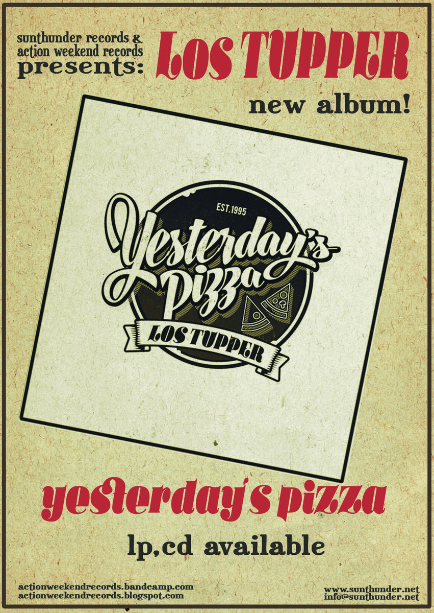 Includes Unlimited Streaming Of Yesterdays Pizza Via The Free Bandcamp App Plus High Quality Download In MP3 FLAC And More