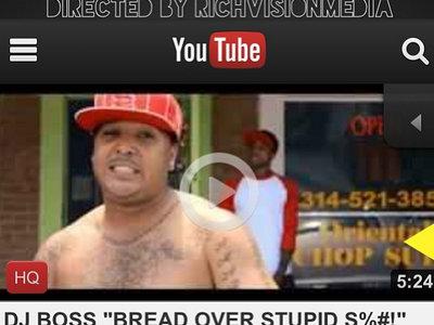 "Dj Boss Music Video "" bread over stupid shit main photo"