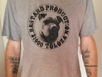 T-Shirt Gris Bastard Prod main photo