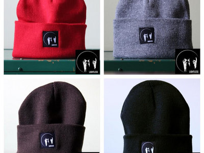 Lightless logo beanie main photo