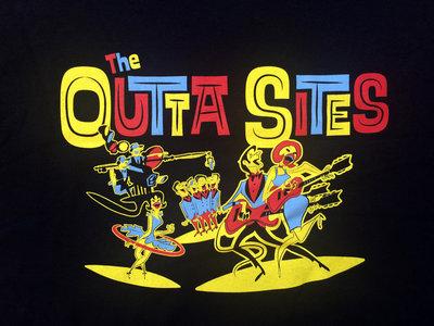 Outta Sites Black T-Shirt main photo