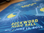 Live at Rockwood Music Hall Limited-Edition Print photo