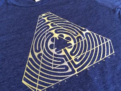 Lewis & Clarke - Triumvirate Labyrinth T-Shirt main photo