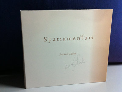 Spatiamentum CD main photo
