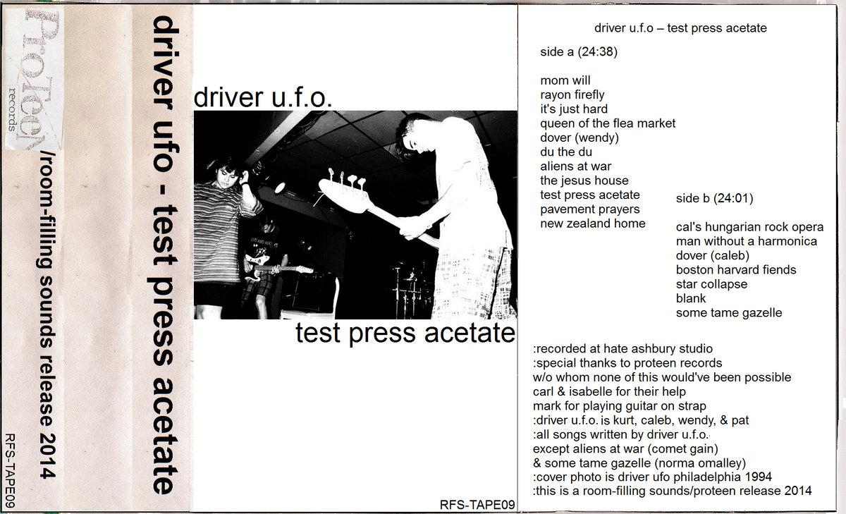 Test Press Acetate | Room-filling Sounds