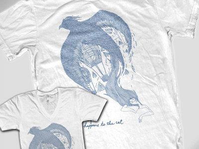 Sun Drunk Moon T-shirt (White) main photo