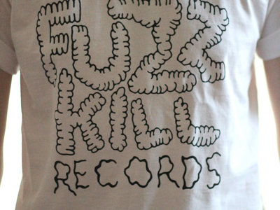 Fuzzkill pube logo t-shirt main photo