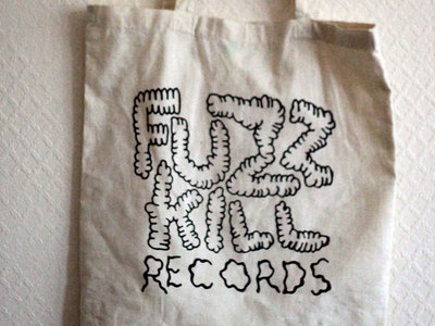 Fuzzkill pube logo tote bag main photo