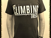 GREEN Vintage 'I Like Climbing Trees' Adult T-Shirt photo