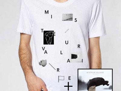 Bellevue White T-Shirt + Bellevue Vinyle main photo