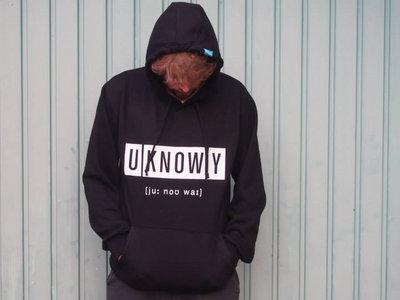 UKY classic black Hoodie main photo