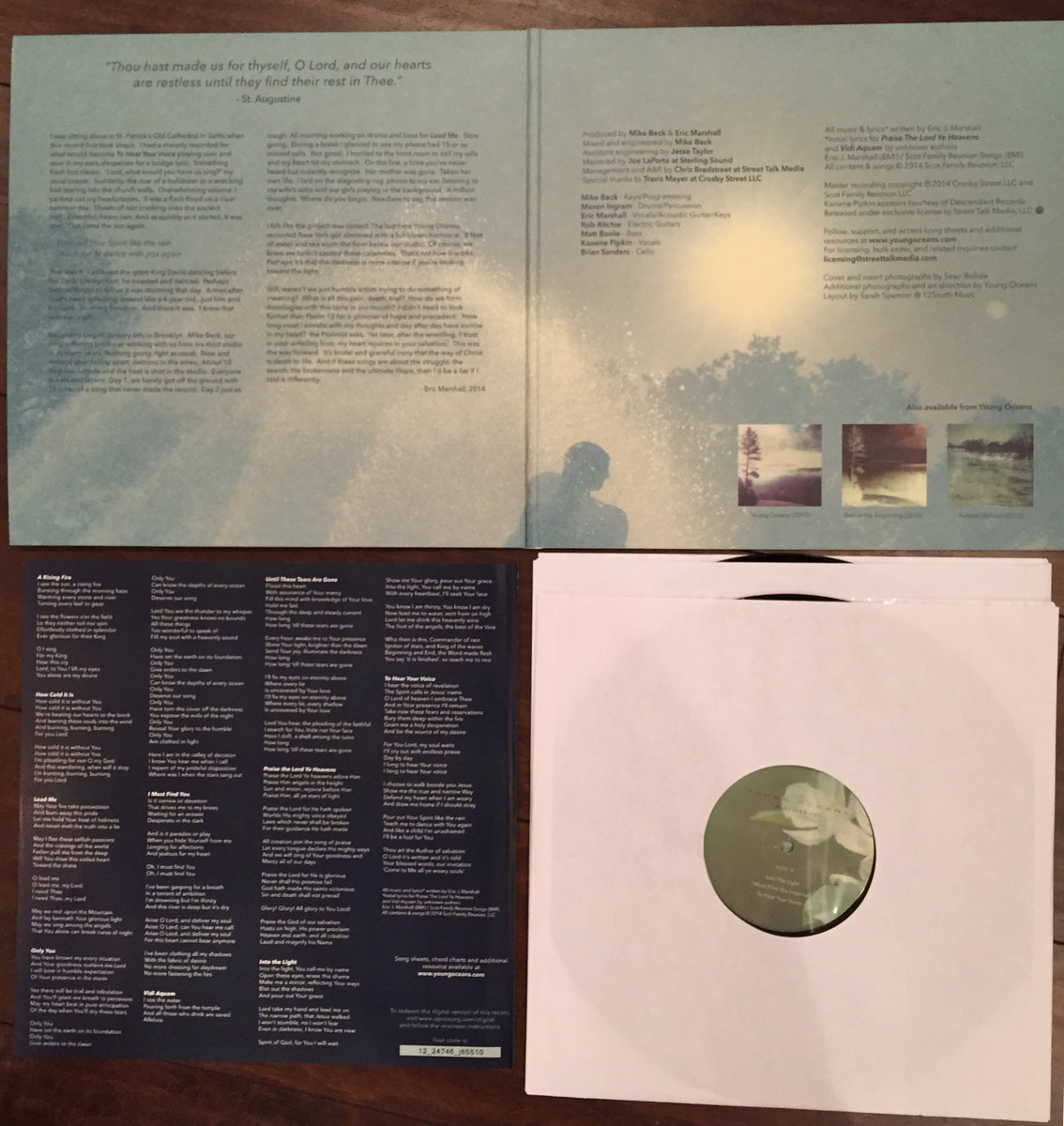 I must find you young oceans heavyweight double vinyl in polylined sleeves and packaged in board weight matte gatefold jacket includes double sided poster and liner notes lyrics stopboris Image collections