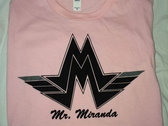 Official Mr. Miranda Logo T-Shirts photo