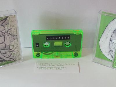Audacity - EP - Winter Tour Tape - Ltd. to 50.  Cassette. main photo
