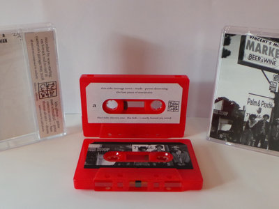 Audacity - The Anne Frank Tape - Ltd. to 50.  Cassette. main photo