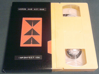 Words and actions - Imperfection (VHS, 2012) main photo