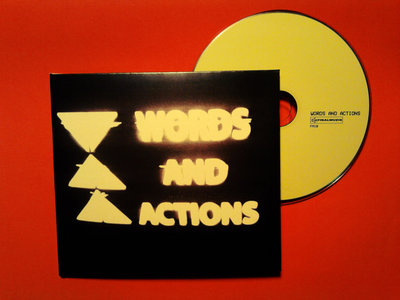 Words and actions - Time Can't Be Turned Back (CD, Compilation, FinalMuzik ‎– FM18) main photo