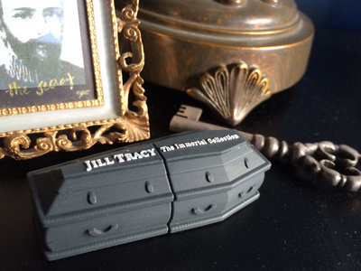 THE IMMORTAL COLLECTION —limited edition antique coffin USB: ENTIRE disography, plus unreleased tracks and full NOSFERATU film with Jill Tracy score main photo