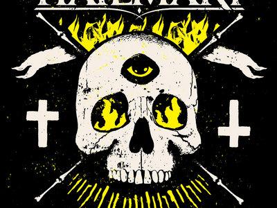 "Hailmary 'Yellow Light Of Death"" Skull T-shirt main photo"
