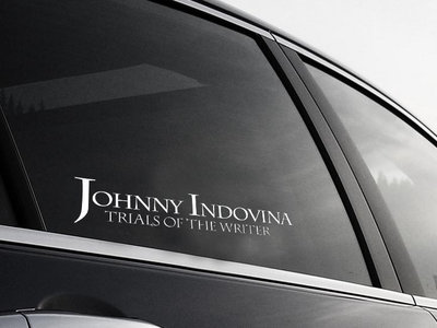 "Johnny Indovina ""Trials of the Writer"" Sticker main photo"